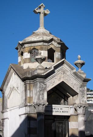 Buenos Aires, Recoleta Cemetery, Enrique García Mérou
