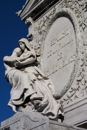 Buenos Aires, Recoleta Cemetery, Emilio V. Bunge