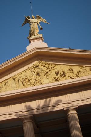 Cementerio de la Chacarita, Buenos Aires, entrance gate