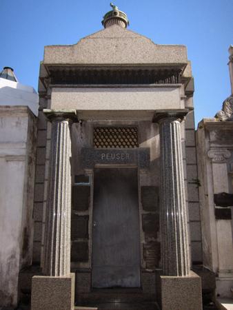 Recoleta Cemetery, Buenos Aires, Peuser