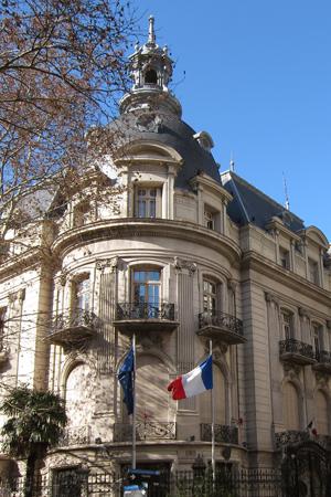 Buenos Aires, Palacio Dorrego-Ortiz Basualdo, Embajada de Francia