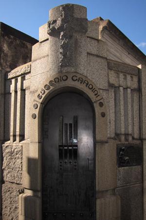 Recoleta Cemetery, Buenos Aires, Eugenio Cardini, Julián García Núñez