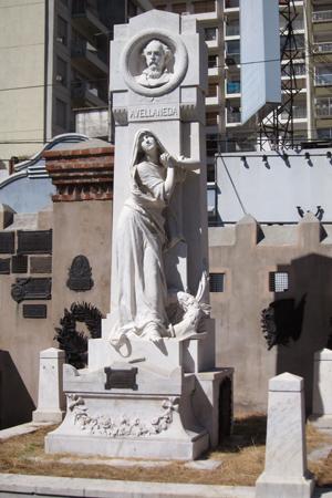 Recoleta Cemetery, Buenos Aires, Nicolás Avellaneda