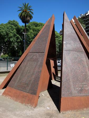 Buenos Aires, Palermo, Plazoleta Monte Ararat