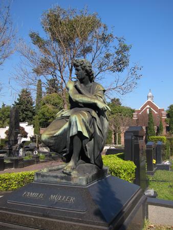 Cementerio Alemán, Familie Müller