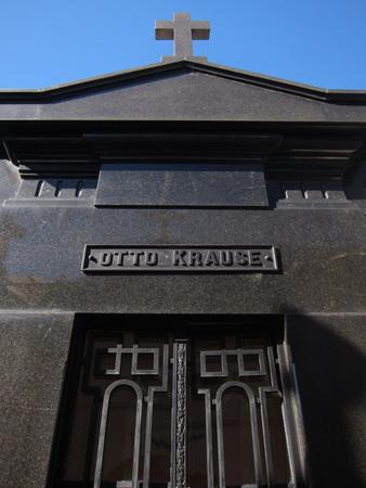 Recoleta Cemetery, Buenos Aires, Otto Krause