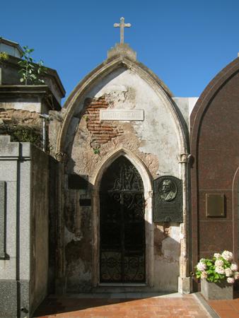 Recoleta Cemetery, Buenos Aires, Miguel Cané