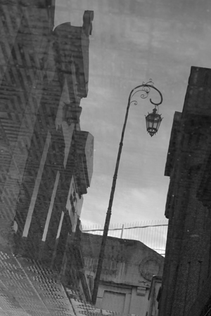Recoleta Cemetery, Buenos Aires, reflection