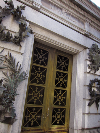 Recoleta Cemetery, Buenos Aires, Tornquist