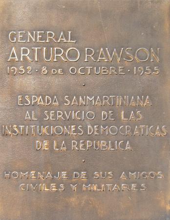 Buenos Aires, Recoleta Cemetery, General Arturo Rawson