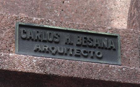 Buenos Aires, Recoleta Cemetery, Arbigorria, Carlos H. Besana