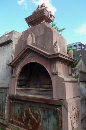 Buenos Aires, Recoleta Cemetery, Arbigorria