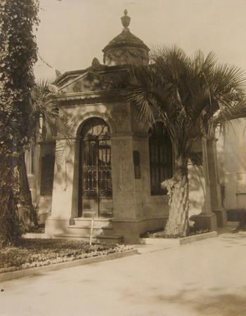 Bernardino Rivadavia, Recoleta Cemetery