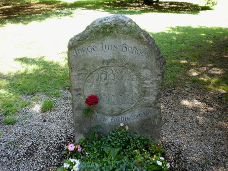 Jorge Luis Borges, Plainpalais Cemetery