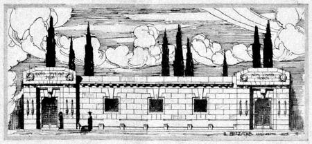 Recoleta Cemetery, niches, Bruno O. Fritzsche