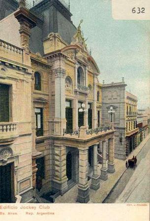 Buenos Aires, Recoleta Cemetery, Carlos Pellegrini, Jockey Club