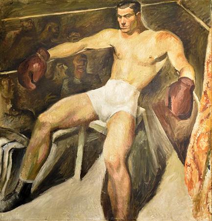 Recoleta Cemetery, Buenos Aires, Jorge Larco, Boxeador, 1930