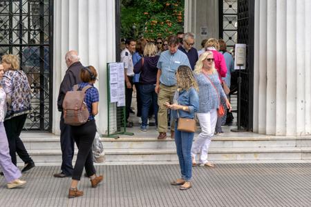 Buenos Aires, Recoleta Cemetery, entrance gate, Marcelo Metayer