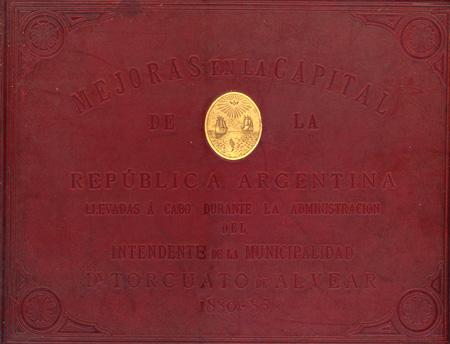Recoleta Cemetery, Buenos Aires, Mejoras en la Capital de la República Argentina 1880-85, Foto-Lito, E. Halitzki