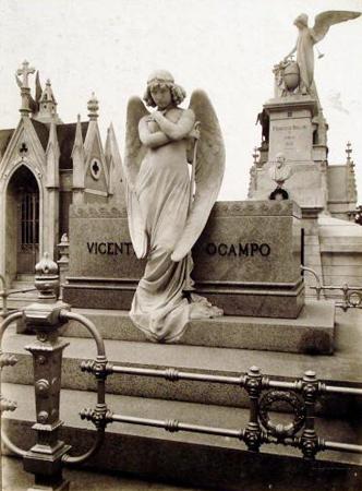 Recoleta Cemetery, Buenos Aires, Ocampo, Colección Witcomb