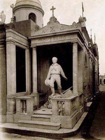 Recoleta Cemetery, Buenos Aires, Roverano, Colección Witcomb