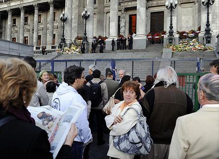 Velatorio de Alfonsín, Congreso Nacional, Buenos Aires