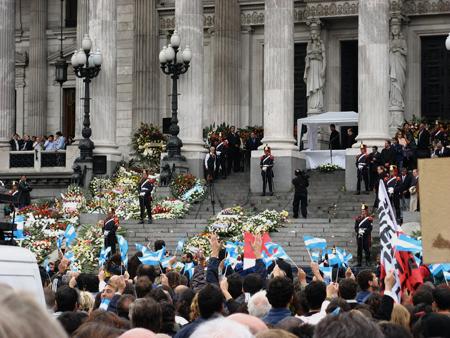 Misa para Alfonsín, Congreso Nacional, Buenos Aires