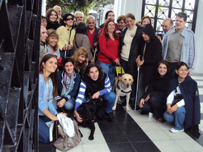 Recoleta Cemetery, guided visit, blind