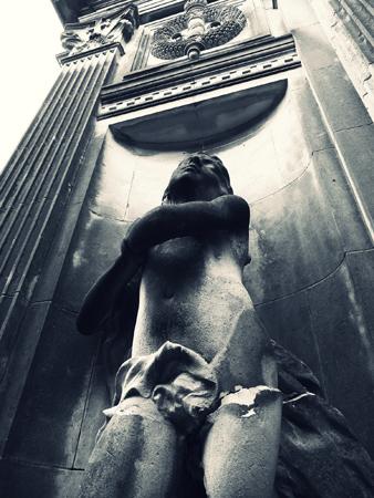Buenos Aires, Recoleta Cemetery, cherub, Marcelo Metayer