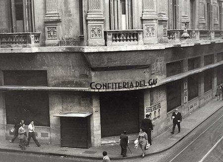 Familia Roverano, Confitería del Gas, Buenos Aires