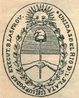 National coat-of-arms, Argentina