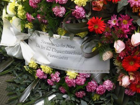 Eva Perón, Recoleta Cemetery
