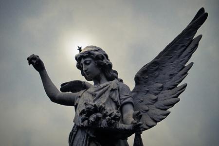 Recoleta Cemetery, Buenos Aires, angel