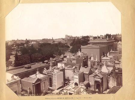 Recoleta Cemetery, Buenos Aires, Arturo W. Boote