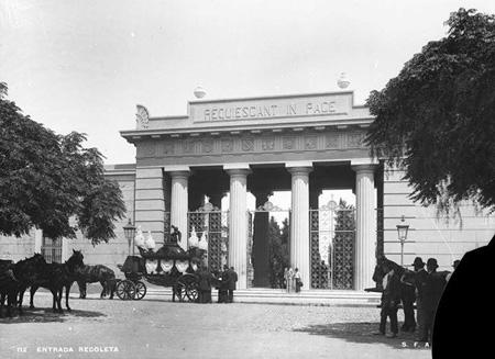 Recoleta Cemetery, Buenos Aires, Recoleta, AGN, Archivo General de la Nación, 1890
