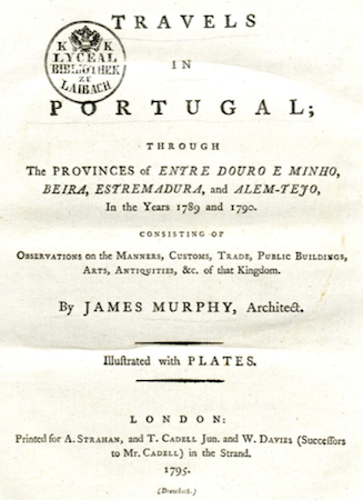 James Murphy, 1795, Évora, Portugal, Capela dos Ossos, bone chapel