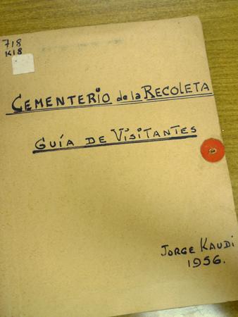 Apuntes, Jorge Kaudi