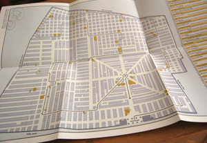 My map, Recoleta Cemetery