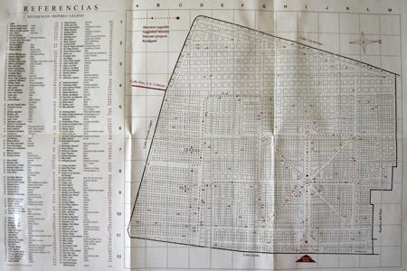 ADACRE map