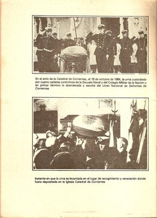 Buenos Aires, Recoleta Cemetery, transfer of Pedro Ferré