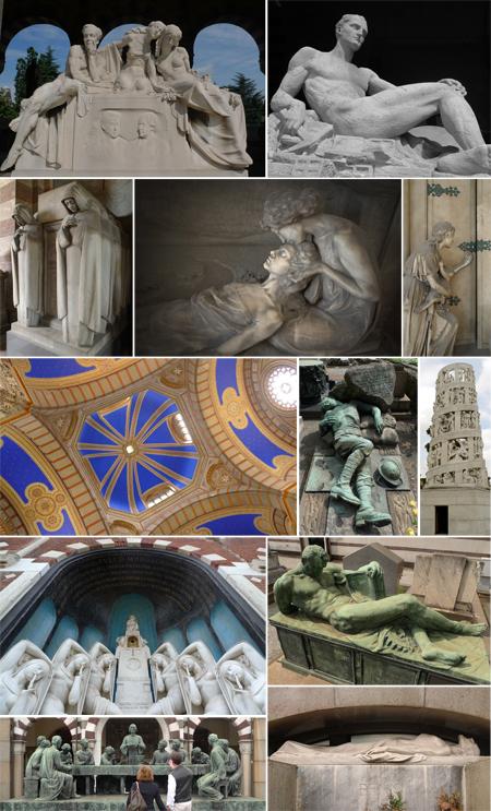 Italia, Italy, Cimitero Monumentale