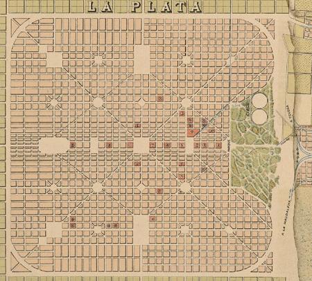 Plano, Ciudad de La Plata