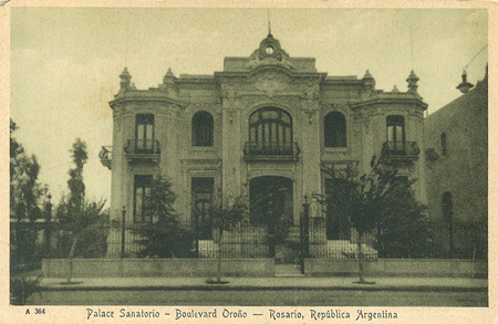 Recoleta Cemetery, Buenos Aires, postal Peuser