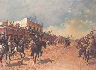 Corrida de Sortija, Ángel della Valle