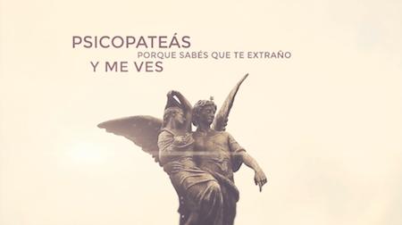 Recoleta Cemetery, Buenos Aires, Tan Biónica, Víctimas, lyric video